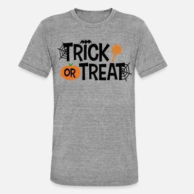 Trick Or Treat Trick or Treat - Koszulka triblend unisex