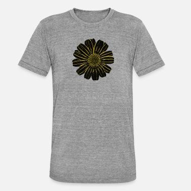 Gallega Flor gallega blanca 5 - Camiseta triblend unisex 29997374f60