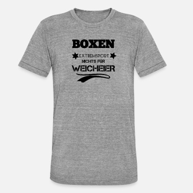 Wimp Boxing Not for wimps - Unisex Tri-Blend T-Shirt by Bella & Canvas