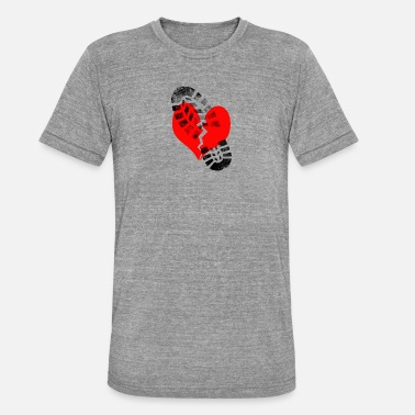 Broken Heart Broken heart - Unisex Tri-Blend T-Shirt by Bella & Canvas
