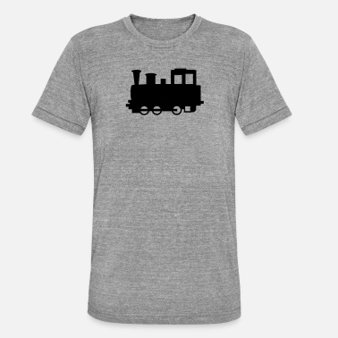 Steam Locomotive Steam locomotive - Unisex Tri-Blend T-Shirt