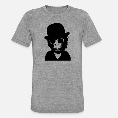 Dandy (Pop Chimps) - Unisex T-Shirt meliert