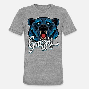 Grizzly Grizzly - Triblend-T-shirt unisex från Bella + Canvas