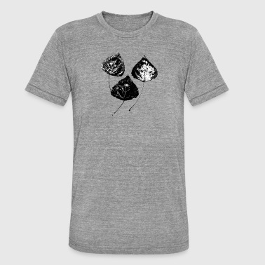 Autumn in black and white - Unisex Tri-Blend T-Shirt by Bella & Canvas