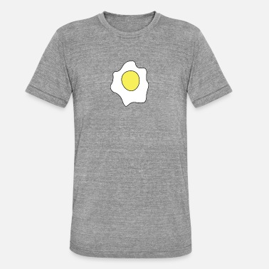 Fried Egg fried-egg - Unisex Tri-Blend T-Shirt