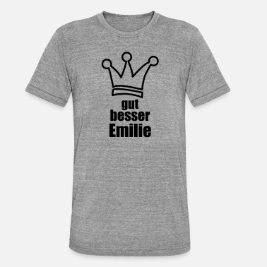 Eemil Emilie - T-shirt chiné Bella + Canvas Unisexe