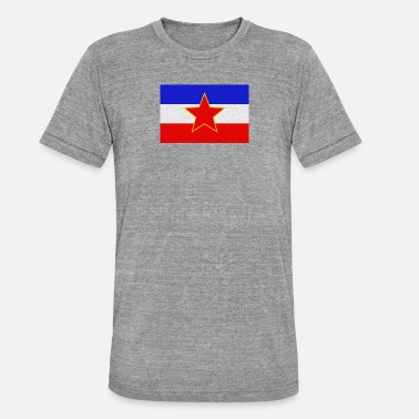 Yugoslavia Yugoslavia - Unisex Tri-Blend T-Shirt by Bella & Canvas