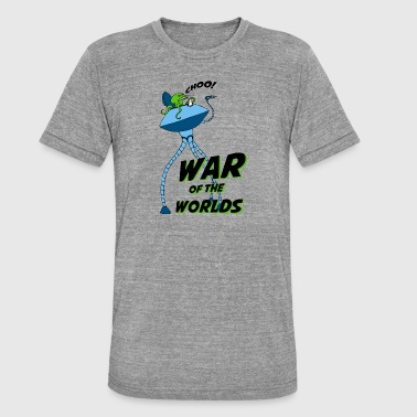 The War of the Worlds - Unisex Tri-Blend T-Shirt by Bella & Canvas