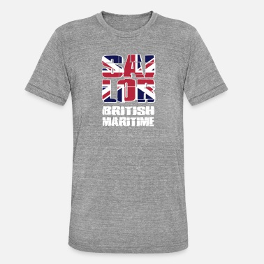 Maritime UK Maritime Sailor - Unisex Tri-Blend T-Shirt