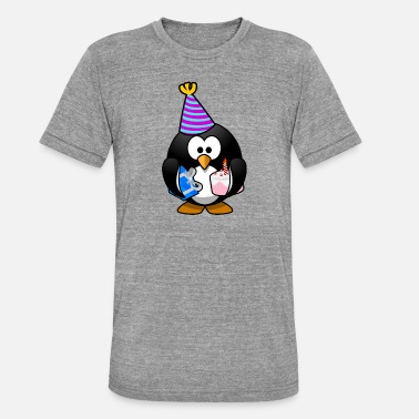 Tux Tux - Unisex tri-blend T-shirt van Bella + Canvas