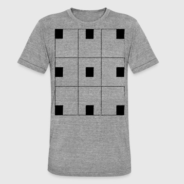 chessboard - Unisex Tri-Blend T-Shirt by Bella & Canvas