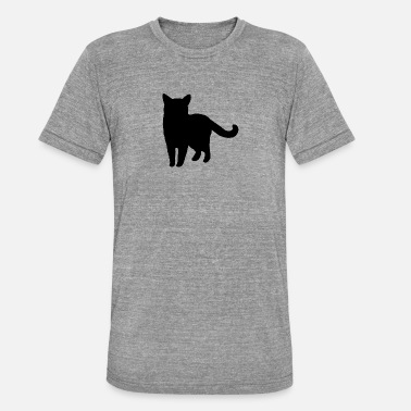Gatos Animal Animales · Animales · Gatos · Gato - Camiseta Tri-Blend unisex de Bella + Canvas