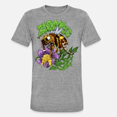 Zombie Zombee - T-shirt chiné unisexe