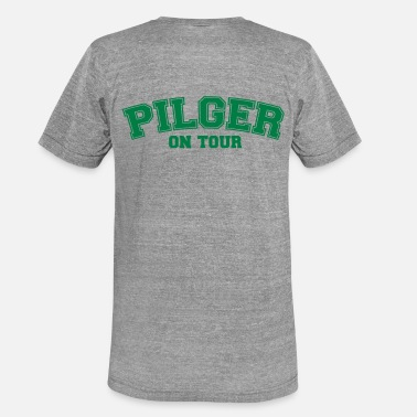On Tour Pilgrims on Tour - Unisex triblend T-skjorte