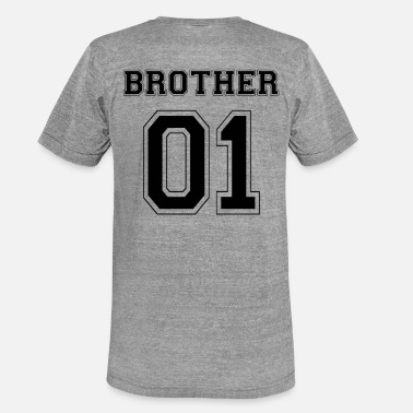 Brother From Another Mother HERMANO 01 - EDICIÓN NEGRA - Camiseta triblend unisex