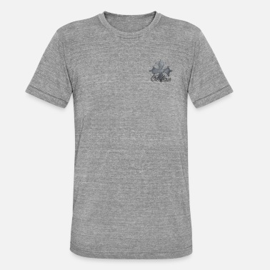 Iron Metal Occitan cross metal iron - Unisex Tri-Blend T-Shirt