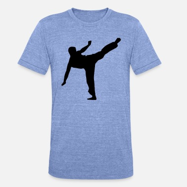 Karate Kid Karaté Kid - T-shirt chiné Bella + Canvas Unisexe