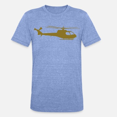 Apache helicopter kids military rc - Unisex Tri-Blend T-Shirt