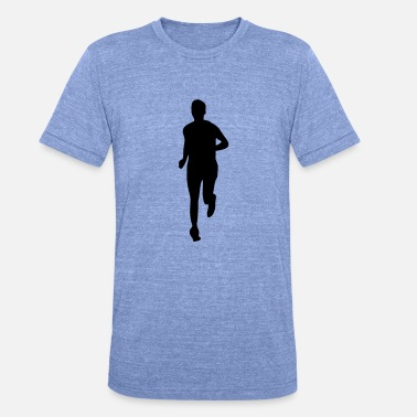 Running Sports run sports - Unisex Tri-Blend T-Shirt