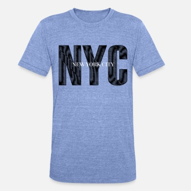 City NYC New York City - Unisex triblend T-shirt