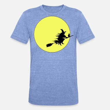 witch - Unisex Tri-Blend T-Shirt by Bella & Canvas