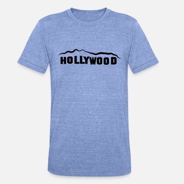 HOLLYWOOD - Unisex Tri-Blend T-Shirt