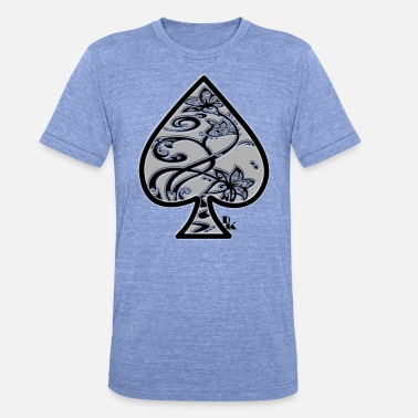 Ace Of Spades Ace of Spades da dk - Maglietta unisex tri-blend di Bella + Canvas