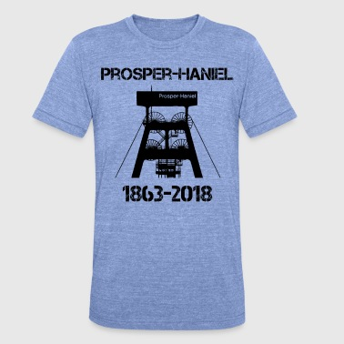 Prosperity Prosper Haniel colliery - Unisex Tri-Blend T-Shirt by Bella & Canvas