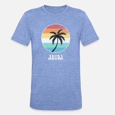 Aruba aruba - Unisex Tri-Blend T-Shirt by Bella & Canvas