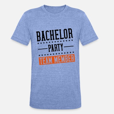 Farewell Party bachelor farewell party - Unisex Tri-Blend T-Shirt