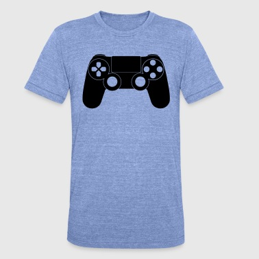 Gamepad Gamepad - Unisex Tri-Blend T-Shirt von Bella + Canvas