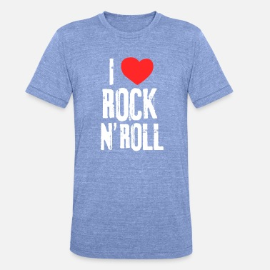Rock And Roll Rock And Roll - T-shirt chiné unisexe