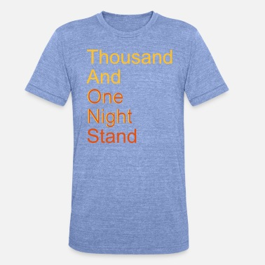 Myytti thousand and one night stand (2colors) - Unisex triblend t-paita