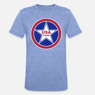 Team Usa USA team - T-shirt chiné unisexe