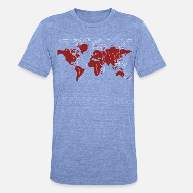 World Series Series 05 | Choose your world - Unisex Tri-Blend T-Shirt