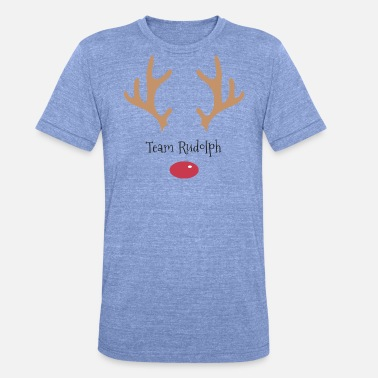 Rudolf Team Rudolph - Unisex tri-blend T-shirt fra Bella + Canvas