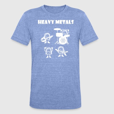 Band Heavy metals, rocking heavy metals - Unisex Tri-Blend T-Shirt by Bella & Canvas