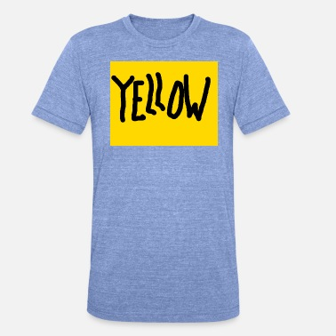 Yellow - Unisex T-Shirt meliert