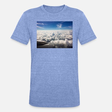 Above The Clouds Above the clouds - Unisex Tri-Blend T-Shirt by Bella & Canvas