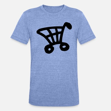 Shopping Cart Shopping Cart - Unisex Tri-Blend T-Shirt