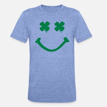Smile irish smile - Unisex Tri-Blend T-Shirt
