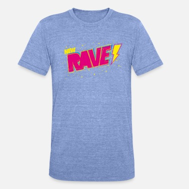 Nu Rave New Rave - T-shirt chiné unisexe