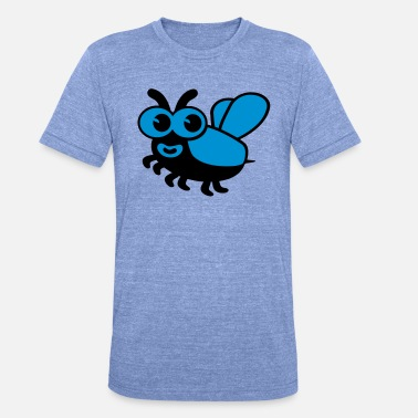 Bug Bug - T-shirt chiné unisexe