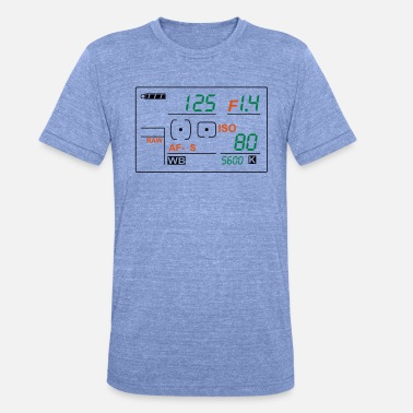 Display 2015 3 Farben - Unisex T-Shirt meliert