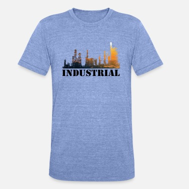 Industry industrial - Unisex Tri-Blend T-Shirt
