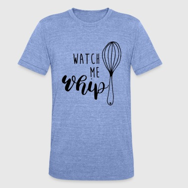 WHIP - Unisex Tri-Blend T-Shirt by Bella & Canvas
