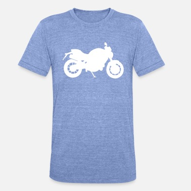 Motorcycle Logo Motorcycle Logo No.2 - Unisex Tri-Blend T-Shirt by Bella & Canvas