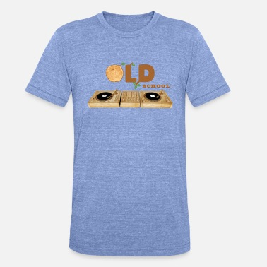 Old School Old School - Unisex triblend T-shirt