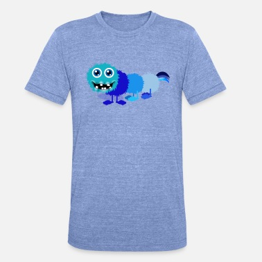Chilly Chilly Catarmonster - Unisex T-Shirt meliert
