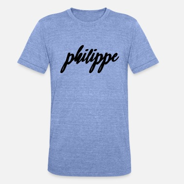 Philippe PHILIPPE - Unisex Tri-Blend T-Shirt by Bella & Canvas